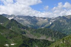 Widok z Pic Cecire na zachód