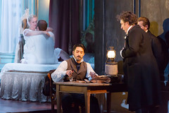 Charles Castronovo, Diana Damrau, Ludovic Tézier, Kwangchul Youn in Katie Mitchell's Lucia di Lammermoor ©2016 ROH. Photograph by Stephen Cummiskey (Royal Opera House Covent Garden) Tags: music opera coventgarden royaloperahouse royalopera donizetti luciadilammermoor charlescastronovo dianadamrau ludovictézier kwangchulyoun bykatiemitchell