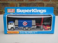 Vintage Matchbox Super Kings K34 Daf Pallet Truck & Fork Lift 1980's Boxed Retro Toy (beetle2001cybergreen) Tags: truck vintage toy lift fork super retro kings pallet boxed 1980s matchbox daf k34
