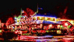What Happens In Texas, Stays In Texas (raymondclarkeimages) Tags: cameraphone food usa colors night restaurant g4 vibrant lg smartphone steak ribs texasroadhouse raymondclarkeimages 8one8studios vs986