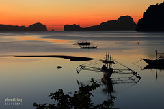 El Nido Sunset (engrjpleo) Tags: longexposure sunset sea seascape beach water colors landscape coast seaside outdoor dusk philippines shore serene seashore elnido palawan waterscape corongcorongbeach