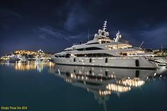 Yacht (Vruna Giorgio) Tags: marina nikon italia mare yacht liguria d750 notte imperia notturno crisi ricchezza ricchi marineria