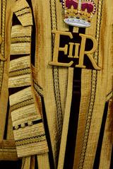 21 April 2016 (cerebellah) Tags: london crimson gold eiir hydeparkbarracks statecoathouseholdcavalry queens90years