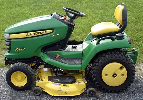 John Deere Model X530 Riding Mower - $4730.00 (Sold May 22, 2015)