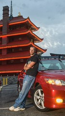 No Jason Statham, but hey, we have the same initials. (SaltyDogPhoto) Tags: red portrait sky selfportrait man reflection building male me car vertical architecture photography reading lights evening pagoda model nikon automobile photoshoot cloudy modeling pennsylvania flash flashphotography pa toyota vehicle practice nikkor hdr edit camry strobe layering photooftheday strobist readingpagoda offcamerastrobe nikonphotography nikond7200 saltydogphoto nikkor1680mmf284eedvr