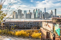 I  New York (HM5646) Tags: voyage new york city travel november autumn trees sky usa fall skyline clouds america automne landscape novembre alone north ciel arbres nuages nord unis etats amerique
