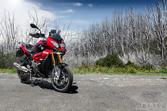 BMW S1000XR (Extreme Ben) Tags: red mountains power ride motorbike bmw motorcycle sportbike touring xr tourer s1000 s1000xr