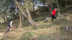 """""""I love trekking and I try to walk as much as I can on my prosthetic.  I don't want people to even notice that I'm disabled as they will treat me differently."""" (Handicap International UK) Tags: nepal earthquake uma kathmandu survivors disability silwal"""