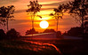 Dear summer, I miss you! (merox_x) Tags: sunset summer sky sun field clouds germany landscape countryside midsummer sundown bloodred