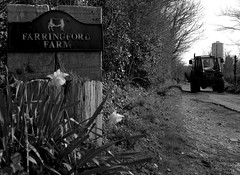 Farringford Farm (martynwhittaker1987) Tags: blackandwhite house holiday tractor west tourism rural death farming scenic rental plan hampshire southern isleofwight georgian converted southeast accommodation overlooking 1945 principles structural possession cosmetic grade1 1892 listedbuilding 1856 middleton superficial poetlaureate freshwaterbay tennysondown locallandmark alfredlordtennyson farringford gothicfeatures aftondown farringfordhotel gothicarchedwindows castellatedparapets maindomicileresidence tennysonfamily britishholidayestatesltd largecountryvilla flattenedarchveranda