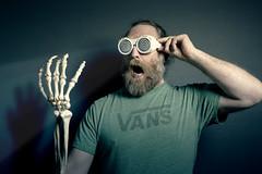 99/366 - X ray glasses (possessed2fisheye) Tags: selfportrait self skeleton hand xray xrayglasses bones 2016 creativeselfportrait 366 project366 366project possessed2fisheye 366project2016 3662016 project3662016