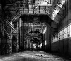 chora.makra (jonathancastellino) Tags: leica toronto abandoned window composite architecture stairs ruins decay ruin m summicron series ladder derelict turbine hearn interferencepatterns choramakra