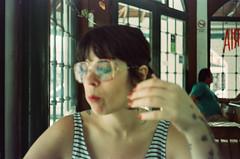 Comer (Nick Gripton) Tags: world travel food film tourism latinamerica southamerica argentina analog 35mm crossprocessed xprocess fuji cross c comida rangefinder cine processing alfred analogue process electronic range finder 250 revue rollo eterna mardeltuyu pelicular