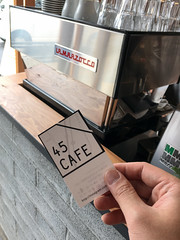 45Cafe  (Norio.NAKAYAMA) Tags: coffee cafe omiya iphone    chiffoncake  miyahara      45cafe