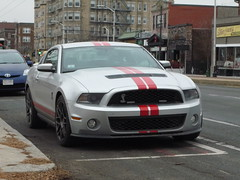 Shelby GT500 (JLaw45) Tags: road street new england urban usa ford car sport boston america cobra state metro muscle massachusetts united north newengland company domestic american area shelby vehicle metropolis motor states mustang mass northeast coupe metropolitan musclecar beantown gt500 gt350 nonimport