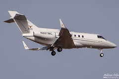 Private --- British Aerospace BAe-125-800A --- N807MC (Drinu C) Tags: plane private aircraft aviation sony dsc mla bizjet britishaerospace privatejet bae125800a lmml hx100v n807mc adrianciliaphotography