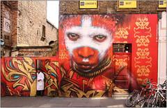 East End Street Art (Mabacam) Tags: streetart london wall painting graffiti stencil mural paint environmental wallart urbanart shoreditch freehand publicart ethnic aerosolart spraycanart stencilling eastend 2016 urbanwall dalegrimshaw