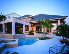 Wentworth Trail Home Plan by The Sater Design Collection (Sater Design Collection) Tags: pool verandah outdoorliving