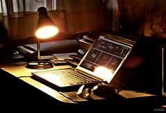 Puro vicio (Franco DAlbao) Tags: corner computer photography fuji ordenador vice estudio study porttil vicio fotografa rincn dalbao francodalbao