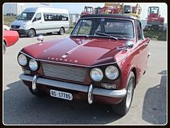 Triumph Vitesse Convertible (v8dub) Tags: auto old classic car schweiz switzerland automobile suisse convertible automotive voiture triumph oldtimer british fribourg oldcar freiburg cabrio collector cabriolet vitesse wagen pkw klassik worldcars