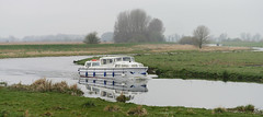Cruiser (yvonnepay615) Tags: reflections river lumix boat suffolk panasonic cruiser lakenheath coth gh4