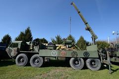 Oshkosh Mk 48 LVS crane (albionphoto) Tags: usa lafayette jeep nj cadillac landrover willys oshkosh militaryvehicle mk48 marshallofcambridge