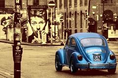 Eye catching sights in Manchester (Lumen8.) Tags: uk england streetart vw canon manchester graffiti bowie northernquarter artist britain beetle urbanart spraypaint davidbowie mcr akse stphotographia aksep19 760d