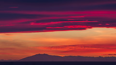 Sunset at Snfellsjkull glacier (Benedikt Halfdanarson) Tags: sunset sky iceland snfellsjkull sland snfellsnes slarlag slsetur sunsetiniceland