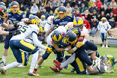 "GFL2 Hildesheim Invaders vs. Assindia Cardinals (Testspiel) 24.04.2015 013.jpg • <a style=""font-size:0.8em;"" href=""http://www.flickr.com/photos/64442770@N03/26647789286/"" target=""_blank"">View on Flickr</a>"