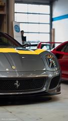Nice stripe (Bram van Heijnsbergen) Tags: car amsterdam italian ferrari german porsche alfaromeo supercar f40 f12 599 ferrarif40 hypercar 599gto laferrari ferrarif12 ferrari488gtb