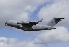 ZZ178 Royal Air Force Boeing C-17A Globemaster III @ Exeter Airport, Devon. (Cornish Aviation) Tags: airport force air iii royal 8 devon dash exeter boeing globemaster dehavilland flybe q400 gjedr c17a zz178