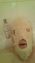 Pass the Timotei please.. (Dyler Plummer) Tags: bathroom weird eyes masks