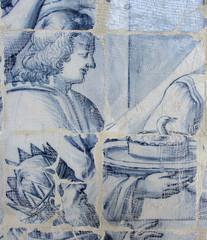 Azulejo tiles, Duck cake, or Duck Pate? (thomas alan) Tags: azulejo salvadorbahia igrejadesofrancisco