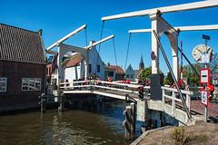 Cycling and bridge @ Breukelen (PaulHoo) Tags: bridge holland netherlands contrast cycling nikon cyclist nik breukelen cityview lightroom racebike 2016 d700 ilobsterit