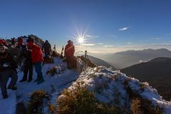 IMG_0395 (JIMI_lin) Tags: sunset snow taiwan  tw       hehuanmountain