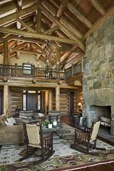 Загородный деревянный дом в штате Нью-Йорк