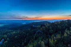 Morgendmmerung (Dirk Hoffmann Fotografie) Tags: sunrise germany landscape deutschland schweiz saxony sachsen dmmerung sonnenaufgang gebirge schsische morgenstunde saxonswitzerland elbsandstein