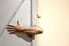 Mister(y) hand (marcus.greco) Tags: door light portrait selfportrait abstract man hand surreal conceptual