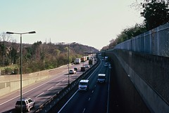 A2 from Westmount Road (Matthew Huntbach) Tags: road a2 eltham fujivelvia100 se9 westmountroad