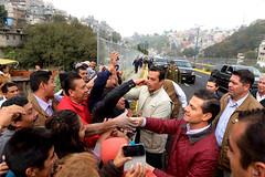 Inauguracin de Vialidad Barranca de Hueyetlaco (Presidencia de la Repblica Mexicana) Tags: morelos huixquilucan cuajimalpa