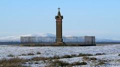 King Edward 1st Monument on Burgh Marsh, 14 January 16 (gillean55) Tags: camera bridge monument canon king 1st north first powershot edward cumbria marsh hs criffel burgh superzoom burghbysands sx50