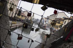 MILANO (Eleonora Sala) Tags: street city milano romantica lucchetti