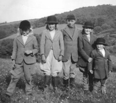 Sorry, You are not Pony Club Material (theirhistory) Tags: uk girls england boys grass kids children outfit boots riding jacket had wellies bowler breeches jodhpurs