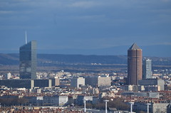 DSC_0861 (Samolymp) Tags: panorama skyline skyscraper tour lyon crayon 3e incity partdieu oxygne lyonnais crdit