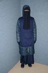 Slave waitress in warm coat (Warm Clothes Fetish) Tags: girl warm hijab sweat waitress niqab maid slave burka chador