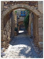 Saint-Bonnet-du-Gard (abac077) Tags: street house france 30 village maison rue gard 2014 2015 côtesdurhône