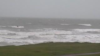 Stormy seas at Biggar Bank