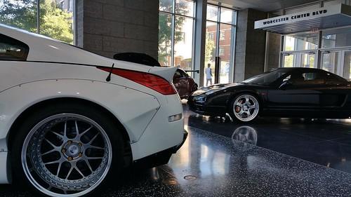 Rocketbunny 350z Acura Nsx