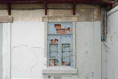 (Mi Mitrika) Tags: azul janela emparedada