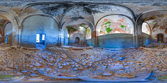 2. Abandoned church in s.Trestna (ilya_yakunin) Tags: panorama church nature architecture canon village russia 360 360x180 spherical 360 sphericalpanorama equirectangular 18135 photosphere 550d canon550d canoneos550d  trestna